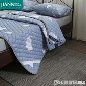 四季床墊保護墊子透氣雙人1.5m床防滑墊背可水洗薄床護墊鋪床褥子CY 印象家品旗艦店
