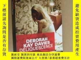 二手書博民逛書店DELIQUESCENCE罕見法文原版 18開Y164737 DEBORAH KAY DAVIES DU MA