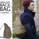 Healthy Back Bag 7103_SE芝麻 TEFLON寶背包-中型斜背包