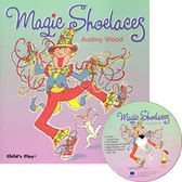 【麥克書店】MAGIC SHOELACES /英文繪本附CD《歌唱》