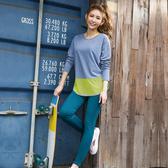 【8:AT 】緊身長褲  M-XL (大洋綠)(未滿3件恕無法出貨,退貨需整筆退)