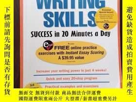 二手書博民逛書店Writing罕見Skills Success in 20 Minutes a Day (Skill Builde