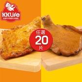 (加贈1片)【KK Life-紅龍免運組】雞腿排20片組(190±10g/片)