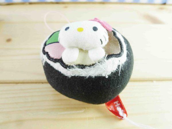 【震撼精品百貨】Hello Kitty 凱蒂貓~KITTY手機吊飾-絨毛花壽司