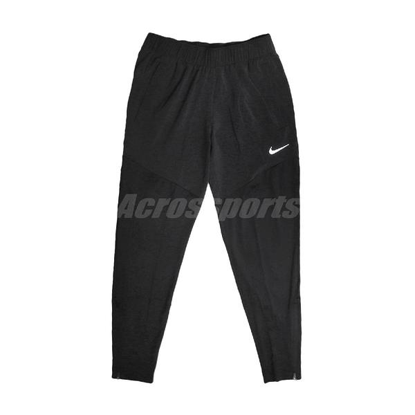 Nike 長褲 Dri-Fit Essential 女款 黑 透氣排汗 褲管拉鍊 內側抽繩【ACS】 DH6980-010