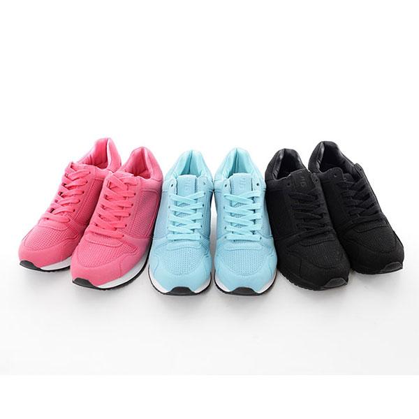 TOP GIRL 慢跑運動休閒鞋-桃紅