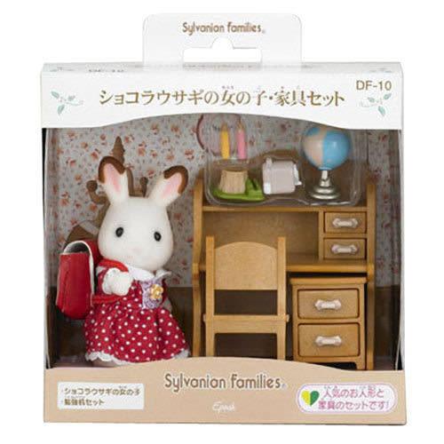 《森林家族-日版》可可兔姐姐書桌家具組 ╭★ JOYBUS玩具百貨