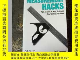 二手書博民逛書店WEB罕見SITE MEASUREMENT HACKSY177301 WEB SITE MEASUREMENT