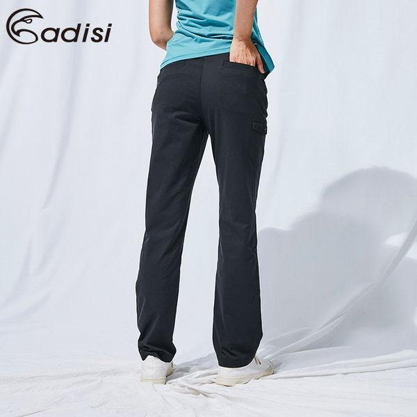 ADISI 女SUPPLEX彈性吸排可調節長褲AP1911118 (S-2XL) / 城市綠洲 (吸濕排汗、輕量、橫彈)