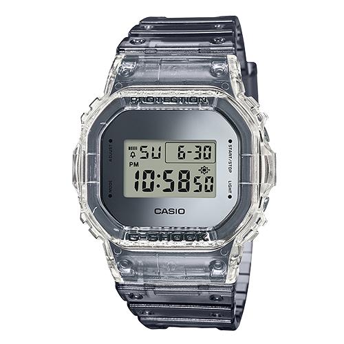 CASIO 卡西歐 手錶專賣店 G-SHOCK DW-5600SK-1 酷炫電子男錶男錶 EL背光照明 鬧鈴 防水200米