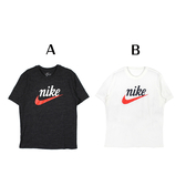 NIKE 男 AS M NSW HERITAGE + SS TEE 灰黑 白 - CK2382010/CK2382133