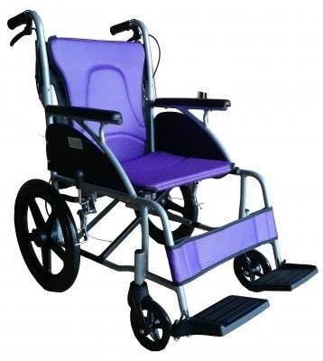 富士康機械式輪椅(未滅菌)  (FZK3500鋁製輪椅-小輪折背)