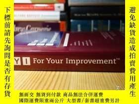 二手書博民逛書店FYI:罕見For Your Improvement, A Development and Coaching Gu