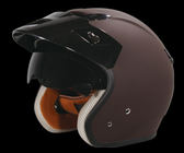 ZEUS-381C-素色_復古帽 安全帽_內藏墨片_內襯可拆洗_免運