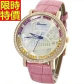 鑽錶-流行高檔新款女腕錶7色5j5【巴黎精品】
