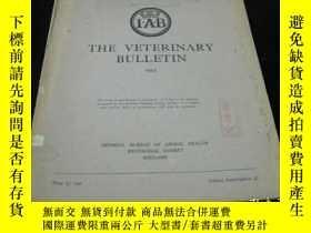 二手書博民逛書店罕見45年外文獸醫期刊《IAB,ANIMAL,BREEDING,