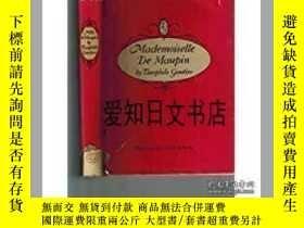 二手書博民逛書店【罕見】Mademoiselle De Maupin 1948年