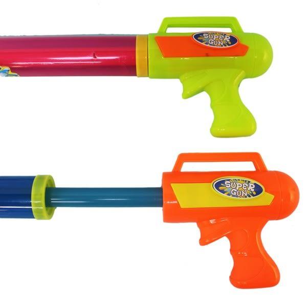 五噴頭拉把水炮 696-2 大水泡 長64cm/一支入{促80} 手拉水槍棒 抽拉式水槍~CF133334