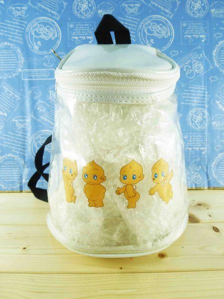 【震撼精品百貨】Q比 Kewpie~透明後背包-白天使