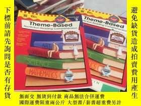二手書博民逛書店Theme-Based罕見兩冊合售如圖Y267886