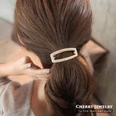 長方形簍空造型髮束 10303【櫻桃飾品】【10303】