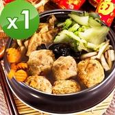 三低素食年菜 樂活e棧 團團圓圓-麻辣紅燒獅子頭1盒(1200g/盒)-全素