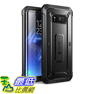 [106 美國直購] SUPCASE Samsung Galaxy S8 Plus 黑色 [Unicorn Beetle PRO Series] Case 手機殼 保護殼