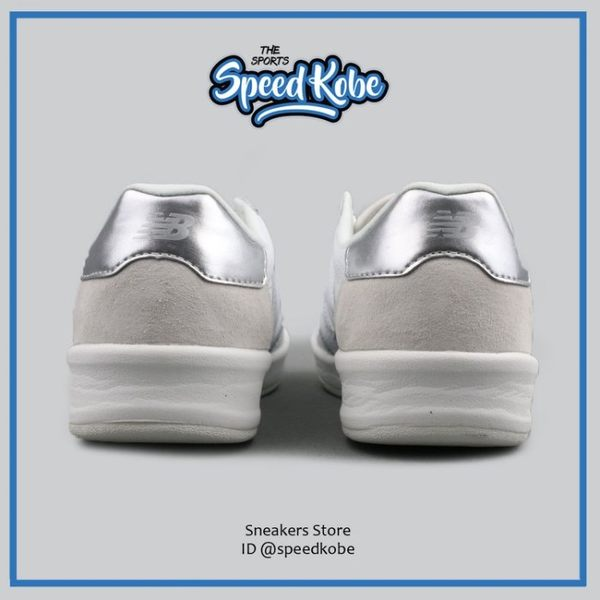 NEW BALANCE 300 帆布鞋 白銀 NB 復古 休閒 網球 女 WRT300WM【Speedkobe】