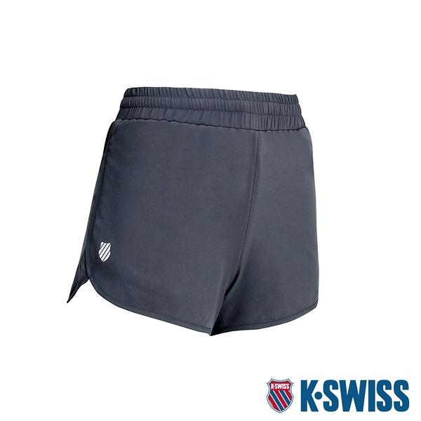 K-SWISS PF Shorts 運動短褲-女-灰