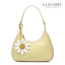 手提包 好心情微笑太陽花月亮包 鵝蛋黃-La Poupee樂芙比質感包飾 (預購+好禮)