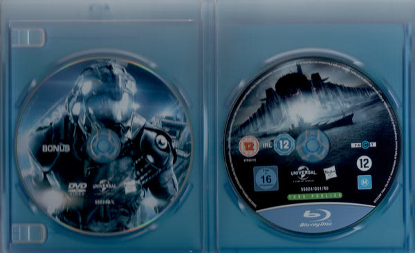 超級戰艦 BD 附 Bonus DVD  (音樂影片購)
