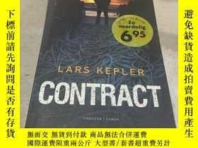 二手書博民逛書店LARS罕見KEPLER CONTRACT(拉爾斯開普勒合同)(