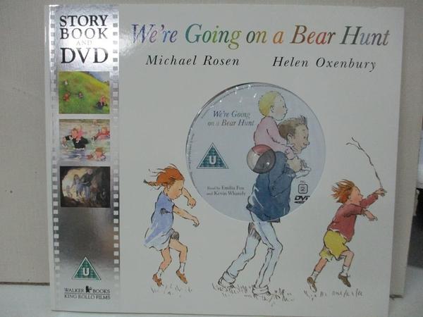 【書寶二手書T1/原文小說_DW4】We're Going on a Bear Hunt_Michael Rosen