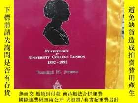 二手書博民逛書店The罕見First Hundred Years[ Egyptology at University Colleg