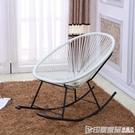 休閒椅 舒服 老人搖搖椅躺椅 庭院陽台休閒家用逍遙椅 成人搖椅戶外藤椅 印象家品