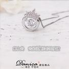 項鍊 現貨 專櫃CZ鑽氣質 甜美 微鑲 靈動 閃耀 皇冠 心動 水晶 項鍊 鎖骨鍊 S2539 Danica 韓系飾品