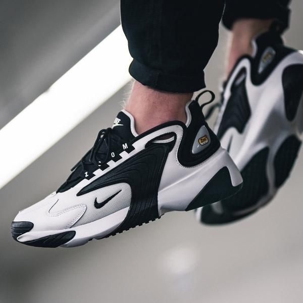 【現貨】NIKE Zoom 2K 白 黑 氣墊設計 復古 運動鞋 男鞋 慢跑鞋 AO0269-101