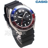 CASIO 卡西歐 MDV-107-1A3 潛水錶 水鬼 槍魚系列 運動錶 日期顯示窗 男錶 藍x紅 MDV-107-1A3VDF