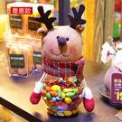 聖誕節聖誕糜鹿款禮糖果罐儲物罐公仔...