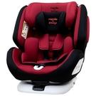 NANIA 納尼亞 納歐聯名 migo系列360度旋轉汽車安全座椅/汽座-紅色FB00370〔衛立兒生活館〕