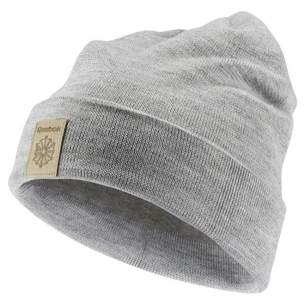 Reebok Classics Foundation Beanie 毛帽 保暖 灰【運動世界】AX9979