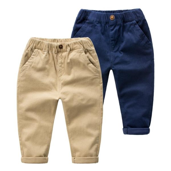 男童長褲 兒童褲子4秋裝小童3歲寶寶褲子5男童長褲加絨2女童冬裝6童裝嬰兒 米蘭街頭