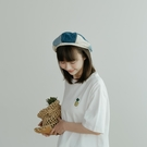 Queen Shop【07020704】車線八角拼接報童帽 三色售*現+預*