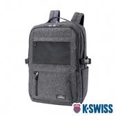 K-SWISS Travel Backpack休閒後背包-灰