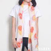 淺橙圓點絲巾 巧帛Chaber