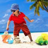 童沙灘玩具套裝寶寶洗澡戲水玩沙子挖沙漏決明子鏟子工具