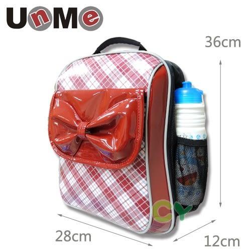 【UnMe】蝴蝶結單層後背書包 紅色 3236N-R (OS小舖)