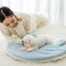 寵物墊 雙耳狗狗墊子冬天加厚保暖毯子地墊狗窩睡墊貓咪冬季被子狗狗用品【快速出貨八折下殺】