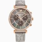 SWAROVSKI 施華洛世奇 PASSAGE CHRONO 幸福航程計時腕錶 5580348