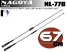 《飛翔無線》NAGOYA NL-77B (台灣製造) 雙頻天線〔 全長67cm 重量120g 兩種形式購買選擇 〕